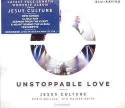 UNSTOPPABLE LOVE CD+BLUE-RAY - JESUS CULTURE - 040232127090