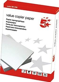 PRINT- EN KOPIEER A4 80 GR 500VEL - 5 STAR - 3553231734703