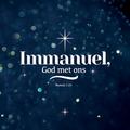 WENSKAART KERST IMMANUEL GOD MET ONS - 454108