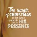 WENSKAART KERST THE MAGIC OF CHRISTMAS - 454113
