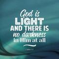 WENSKAART KERST GOD IS LIGHT AND - 454114