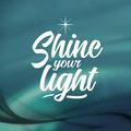 WENSKAART KERST SHINE YOUR LIGHT - 454119