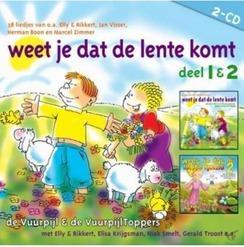 WEET JE DAT DE LENTE 1&2 - VUURPIJL, KINDERKOOR DE - 9789491839740