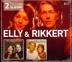 MASKERS AF/HART OP DE TONG 2CD - ELLY & RIKKERT - 602547704009