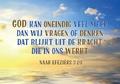 POSTKAART GOD KAN ONEINDIG VEEL MEER - ICHTUS LIGHTS - 65503209