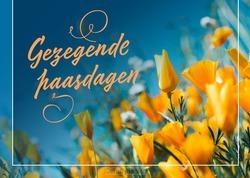 PRENTBRIEFKAART GEZEGENDE PAASDAGEN - PASEN L4Y - 65508017