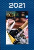 WEEKKALENDER 2021 OP SCHILD OMLEG - 65508958