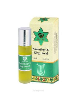 ZALFOLIE 10ML KING DAVID - EIN GEDI ANOINTING OIL - 7290101163732