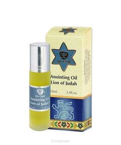 ZALFOLIE 10ML LION OF JUDAH - EIN GEDI ANOINTING OIL - 7290101163923