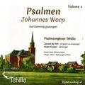 PSALMEN JOHANNES WORP VOLUME 1 - TEHILLA PSALMZANGKOOR - 7438239685683
