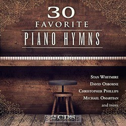 30 FAVORITE PIANO HYMNS (2-CD) - WHITMIRE, STAN/OSBORNE, DAVID - 792755608821