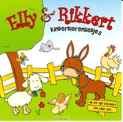KINDERDIERENLIEDJES - ELLY & RIKKERT - 8711539044664