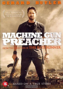 DVD MACHINE GUN PREACHER - 8713045228804