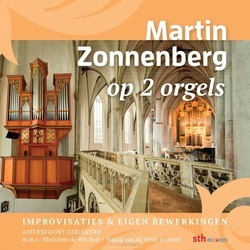 MARTIN ZONNENBERG OP 2 ORGELS - ZONNENBERG, MARTIN - 8716114192525