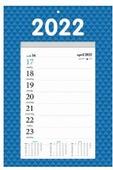 NOTITIEKALENDER WEEK 7/1 2022 OP SCHILD - 8716467673252