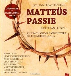 MATTEUS PASSIE NED. VERSIE - LEUSINK/PIETER JAN - 8716777936054