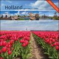 HOLLAND MAANDKALENDER 2021 17X17CM - 8716951318126