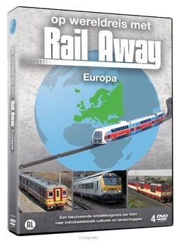 DVD RAIL AWAY - EUROPA - 8717662573279