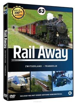 DVD RAIL AWAY 63 ZWITSERLAND/ FRANKRIJK - 8717662578397
