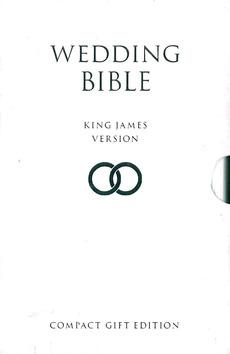WEDDING BIBLE - WHITE (IN SLIPCASE) - BIBLE - KJV - 9780008225056