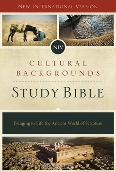 NIV CULTURAL BACKGROUNDS STUDYBIBLE - 9780310431589