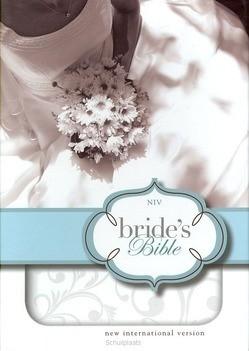 NIV BRIDES BIBLE WHITE DUOTONE FLORAL - 9780310435433