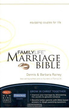 FAMILY LIFE MARRIAGE BIBLE - BIBLE - NKJV - 9780718020446