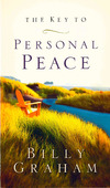 THE KEY TO PERSONAL PEACE [BROCHURE] - GRAHAM, BILLY - 9780849944284