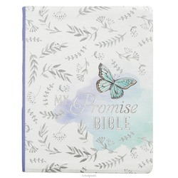 MY PROMISE BIBLE - SILKY - BUTTERFLY - BIBLE - KJV - 9781432125165