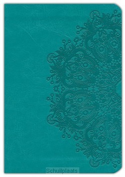 NKJV LARGE PRINT COMPACT BIBLE TEAL - 9781433620683