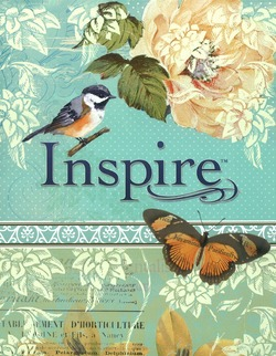 INSPIRE JOURNALING BIBLE - BIBLE NLT - 9781496413741