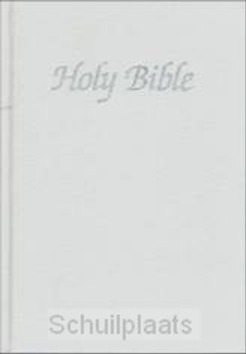 AUTH. KJV WEDDING BIBLE, WHITE HARDBACK - 9781862283077