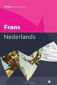 PRISMA WOORDENBOEK FRANS-NEDERLANDS - 9789000358595