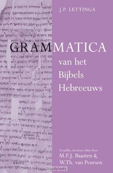 GRAMMATICA VAN HET BIJBELS HEBREEUWS EN - BAASTEN, M.F.J.; PEURSEN, W.TH. VAN; LET - 9789004214484