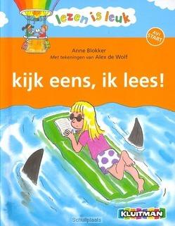KIJK EENS IK LEES - BLOKKER, ANNE - 9789020680232