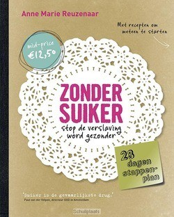 ZONDER SUIKER - REUZENAAR, ANNE MARIE - 9789021557342