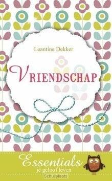 VRIENDSCHAP - DEKKER, LEANTINE - 9789023927792