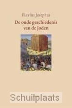 DE OUDE GESCHIEDENIS VAN DE JODEN - JOSEPHUS - 9789026330254