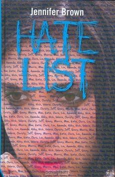 HATE LIST - BROWN, JENNIFER - 9789026603983