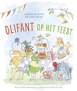 OLIFANT OP HET FEEST - VISSER, LAURINA DE - 9789026623745