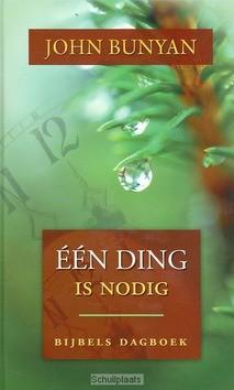 EEN DING IS NODIG - BUNYAN - 9789033121951