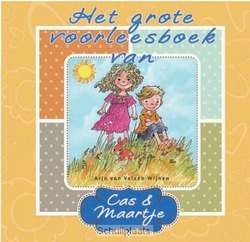 GROTE VOORLEESBOEK VAN CAS EN MAARTJE - VELZEN-W, A. VAN - 9789033126208