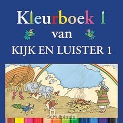 KIJK EN LUISTER 1 KLEURBOEK - ZWOFERINK, LAURA - 9789033127649