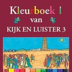KIJK EN LUISTER 3 KLEURBOEK - ZWOFERINK, LAURA - 9789033127663