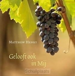 GELOOFT OOK IN MIJ - HENRY, MATTHEW - 9789033131295