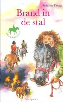 BRAND IN DE STAL - KNEGT - 9789033629532