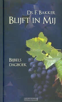 BLIJFT IN MIJ - BAKKER, F. - 9789033632693
