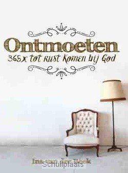 ONTMOETEN - BEEK, INA VAN DER - 9789033817144