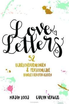 LOVELETTERS HANDLETTEREN - LOOIJ, MIRJAM; VERWIJS, CARLYN - 9789033820502