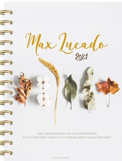MAX LUCADO AGENDA 2021 10X15 - LUCADO, MAX - 9789033878404
